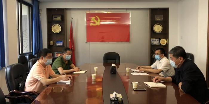 市科协党组书记张春扬一行拜会省科协领导