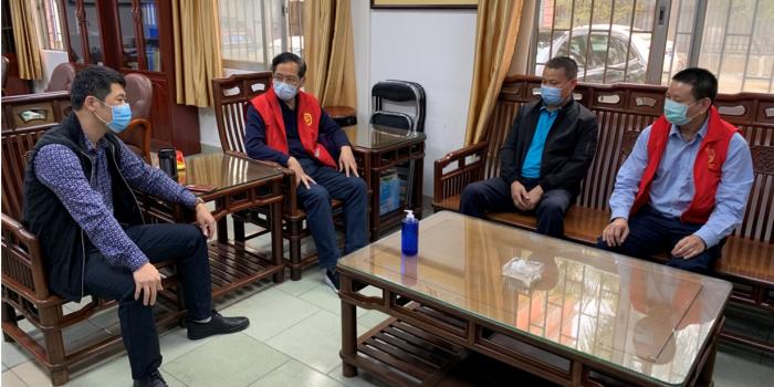 市科协四级调研员吴石宝带领第三批抗疫工作队赴万江支援一线防控工作