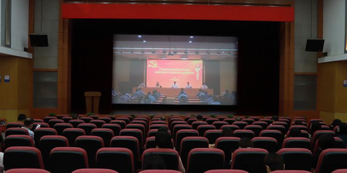 """市科协组织收看收听省科协系统传达学习中国科协""""十大""""精神视频会议"""